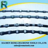 Sierras para el granito, extrayendo, bloque del alambre del diamante de Romatools del granito