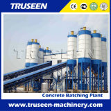 máquina de procesamiento por lotes por lotes concreta comercial de la construcción de una fábrica 180m3/H