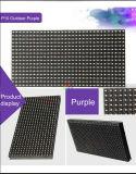 P10 Violet LED Affichage extérieur Module 32x16 matrice 320 * 160mm étanche pour P10 écran LED pourpre rose Scrolling