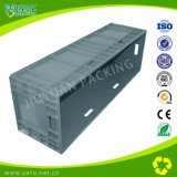 recipiente plástico da caixa de armazenamento 145L sem tampa