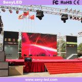 Vídeo a todo color al aire libre de P4.81mm que hace publicidad de la visualización de LED para el funcionamiento de la etapa