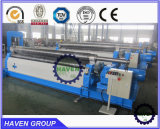 Série W11 Mecânica Type 3 Rollers Rolling and Bending Machine, Pipe Forming Machine
