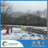 Barreira de trânsito móvel removível galvanizado para indicação na área de alerta