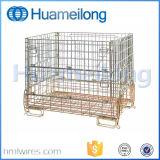 Contenitore logistico della rete metallica del magazzino d'acciaio