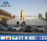 Heet verkoop de Structuur van het Aluminium de Industriële Tent van het Pakhuis voor Handel toont