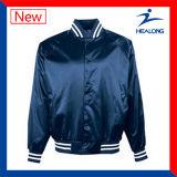 Healong 중국 도매 옷 주문 로고 바람막이 남자의 야구 재킷