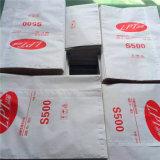 Sachet en plastique tissé par pp stratifié pur de bonne qualité du sac 100% de riz