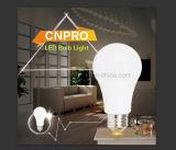 E27/E26/ B22 normas europeias e americanas Lâmpada LED de 7 W