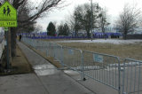 Подгонянный гальванизированный барьер управлением толпы, портативные баррикады, временно загородка