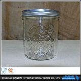 Vaso di muratore di vetro di memoria di Pratical con il coperchio del metallo