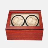 Devanadera de madera automática del reloj del ébano de calidad superior