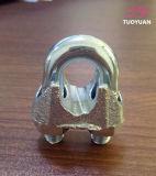 Clip galvanisé de câble métallique DIN741