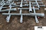 Glasfaser-Rohr für das Sprühen