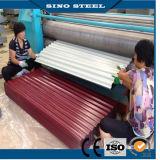 CGCC PPGI prepintó el material para techos de acero galvanizado para la construcción