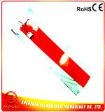 Garniture de chauffage flexible en caoutchouc de silicones pour la chaufferette de silicones de tambour