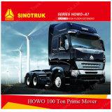 HOWO 트럭 트랙터 6X4 371HP 트랙터 트럭 헤드 또는 트레일러 헤드