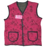 Custom polyester coton gilet Femmes vers le bas