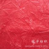Polyester 100% de tissu de brouillon de velours de polyester pour le sofa