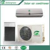 Type climatiseur solaire hybride fixé au mur de plaque plate