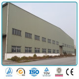 Construction industrielle préfabriquée de structure métallique de coût bas