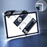 ライトボックスを広告する磁気細い水晶LED