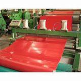 Haute résistance au déchirement et faible abrasion Industries minières feuille de caoutchouc naturel rouge