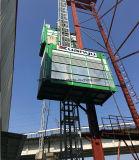 容易な制御を用いる材料のための二重小屋の建築構造のエレベーター