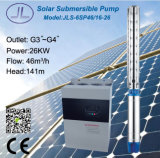 6sp46-16深い井戸の遠心太陽水ポンプ