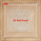 Панель стены панели стены панели 3D PU кожаный декоративная