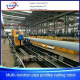 Cortadora del perfil del tubo del CNC del plasma del tubo del tubo del cuadrado de la fabricación de la estructura de acero
