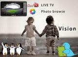 7 polegadas Mini Portable DVB-T2 Receptor de TV Digital