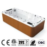 Outdoor Grande baignoire rectangulaire Whirlpool Piscine SPA