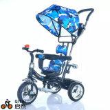 4 in 1 triciclo multifunzionale del bambino del bambino, passeggiatore del bambino, scherzano la carrozzina del carraio del triciclo tre