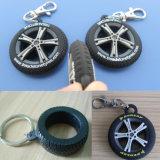 PVC Keychain (ASNY-LZ-PK001) del pneumatico 3D Soft