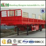 De Semi Aanhangwagen van de Zijgevel van de tri-Bijl van Skw9408