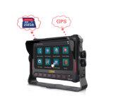 Gravador incorporado do monitor, tela sensível ao toque, GPS. Sensor G