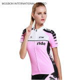 Dernière sublimé Cyclisme Jersey Fashion femmes Cyclisme porte/ Cyclisme usure/ Cyclisme Jersey