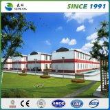 Almacén prefabricado de la estructura de acero del palmo grande del taller del diseño de acero de la construcción de la luz del surtidor de China