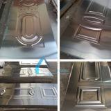 منزل جيّدة رخيصة يضغط لوح معدن فولاذ باب جلد