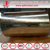 A metà duro bobina d'acciaio galvanizzata tuffata calda