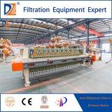 Máquina hidráulica automática da imprensa de filtro da membrana
