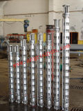 Aço inoxidável de poço profundo de eficiência elevada 316 bombas submergíveis