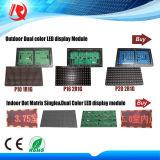 Modulo impermeabile esterno superiore dello schermo del tabellone del LED di colore completo di P10 P8 P6