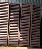 Örtlich festgelegtes Luftschlitz-Fenster gebildet von Puder-überzogenem Aluminiumprofil