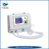 Texto vertical en el quirófano del hospital de suministros médicos Ventilador de uso
