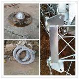 Башня телекоммуникаций стальной штанги Guyed 3leg