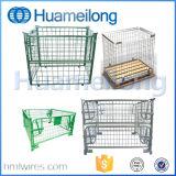 Faltbares Stahlineinandergreifen-zusammenklappbare Rahmen-Ladeplatte