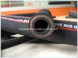 Olie/de Bestand Slang SAE 100 van het Weer R15 Rubber Hydraulische Slang