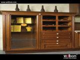 Welbom a adapté le Cabinet de cuisine de luxe en bois plein