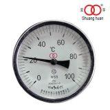 Hohe Genauigkeit Dial Display Schraubanschluss Bimetall-Thermometer
